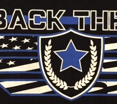 """Join us for the second annual """"We Back the Blue"""" night at Historic Tiger Field!"""