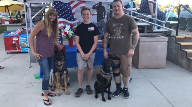 "Colt 45s Support ""Flags and Flowers"" and ""Veterans K9 Connections"" at Season Opener"