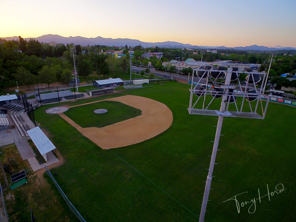 Fruits of our labor…..Tiger Field is looking good!