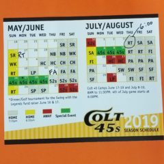 The REALLY Corrected 2019 Pocket Schedule