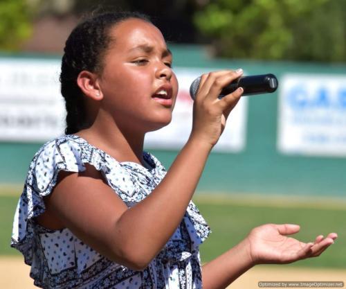 2017 Colt 45s June 18 National Anthem singer