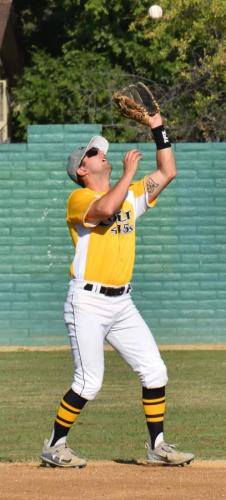 Colt 45s July 2 Taylor Angley snags a pop up for an out