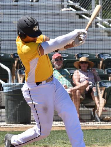 Isaiah Terry at bat